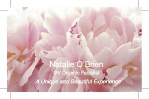 Natalie's Business Card