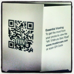 QR Code Example On Packaging