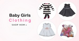 Baby Girls clothing facebook post image