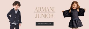 Armani Junior Web Banner