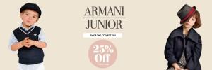 Armani Juniot Web Banner