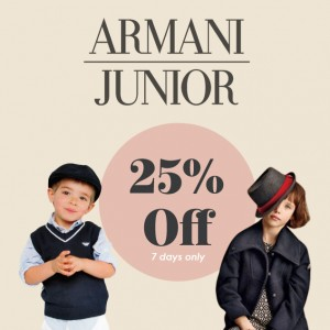 Armani Junior Newsletter Image