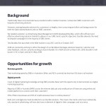 Business Document Example Page
