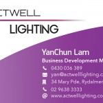 Business Card Example Front