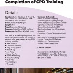 CPD Training Certificate